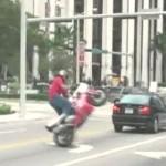 バイクでウィリーやったことある?