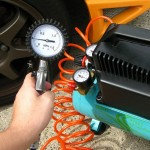 バイクタイヤの空気圧とブレーキメンテのお話